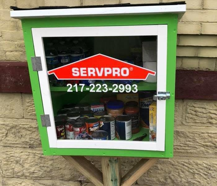 SERVPRO of Quincy - Community Mini Food Pantry